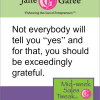 Thumbnail image for Mid Week Sales Tweak: Be Exceedingly Grateful
