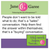 Thumbnail image for Mid Week Sales Tweak: Start a Conversation