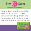 Thumbnail image for Mid Week Sales Tweak: Turn It Into A Buying Conversation