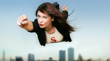 Superwoman real woman